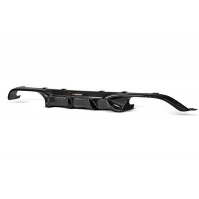 AKRAPOVIC DI-BM/CA/4/G Задний карбоновый диффузор (глянец) для BMW M3/M4