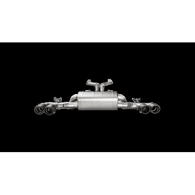 AKRAPOVIC Титановая Выхлопная система Evolution для BMW M5 F90 (без насадок)