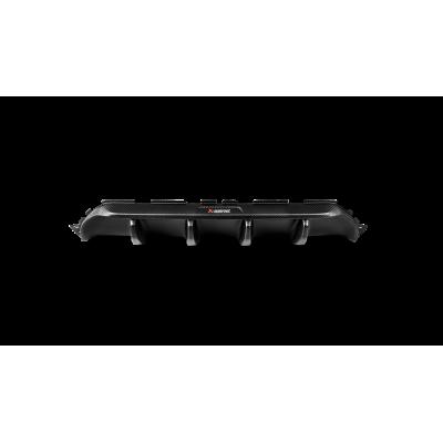 Akrapovic Задний карбоновый диффузор для BMW M5 (F90) (матовый)