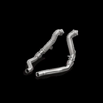AKRAPOVIC Downpipe set (SS) AUDI S7 Sportback (C7) 2013-2017