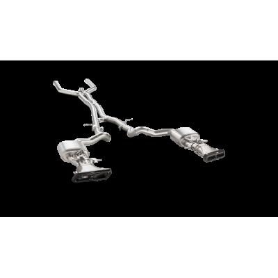 AKRAPOVIC задняя часть выхлопной системы Evolution Line (Titanium) для MERCEDES E63/E63S AMG (W213) (2018+)