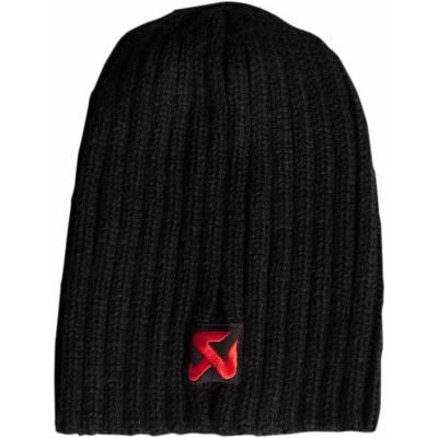 AKRAPOVIC 801615 Knited Black Cap