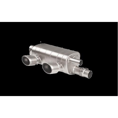 AKRAPOVIC Титановая Выхлопная система для PORSCHE 991.2  Carrera S/4/4S/GTS  (2017+)