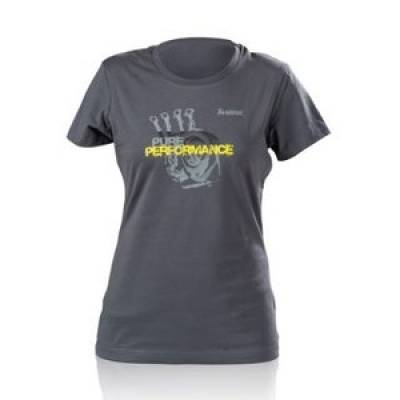 AKRAPOVIC 801779 Lifestyle T-shirt Pure Performance Women's Grey S