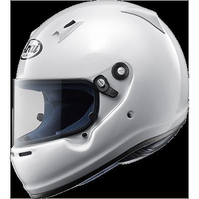 ARAI 233-011-01 Шлем для картинга CK-6 (CIK, CMR2016), белый, р-р XS , закрытый