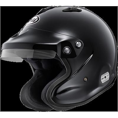 ARAI 217-016-02 Шлем для автоспорта GP-J3, открытый, FIA, черный, р-р S