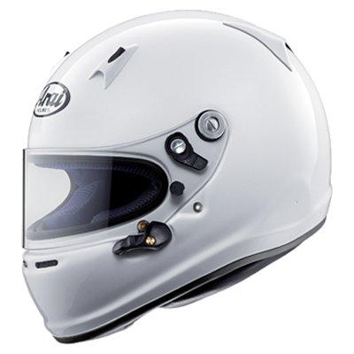 ARAI 232-011-02 Шлем (CIK, K2010) SK-6, белый, р-р S , закрытый