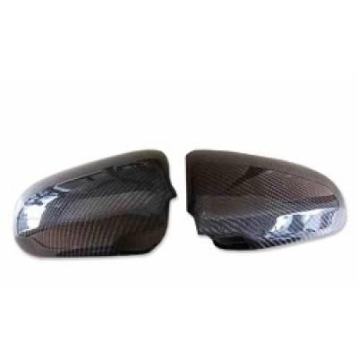 KAKUMEI Карбоновые Накладки на зеркала заднего вида для AUDI A4/A6 2008+