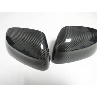 Карбоновые накладки на зеркала для BMW 5-series F10/F11/F07 (11-13)
