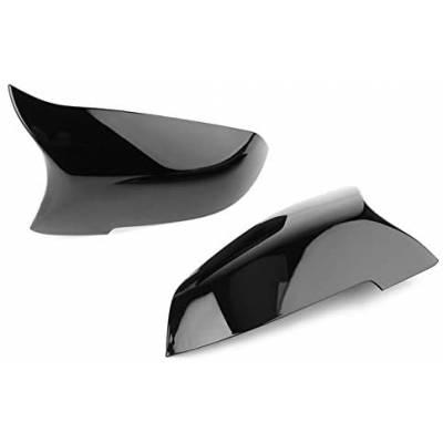 зеркала M-style для BMW 5/6/7-Series F07/F10/F12/F13/F01/F02 (2013+) (черный глянец)