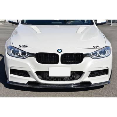 Autotecknic Передняя карбоновая губа Varis-style для BMW 3-series F30