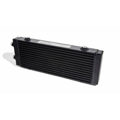 BLACKROCK LAB Радиатор масляный 14 рядов; 400 mm ширина; высота 140 mm; толщина 40 mm; Slimline 10-AN выходы С ОДНОЙ СТОРОНЫ