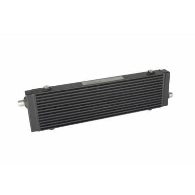 BLACKROCK LAB Радиатор масляный 14 рядов; 400 mm ширина; высота 140 mm; толщина 40 mm; Slimline 10-AN выходы С ДВУХ СТОРОН