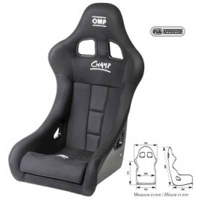 OMP  Кресло CHAMP-R (черное)