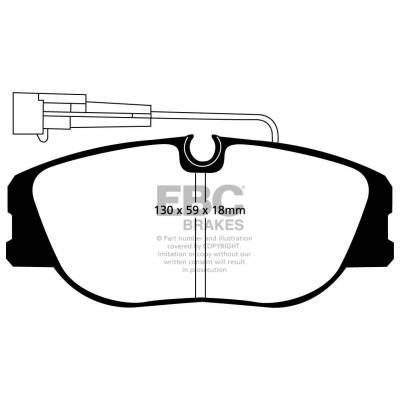 EBC Ultimax передние тормозные колодки DP733