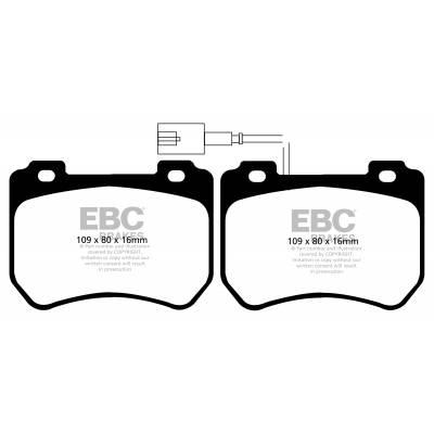 EBC Ultimax передние тормозные колодки DPX2074