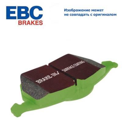 EBC Greenstuff передние тормозные колодки DP22078