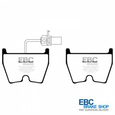 EBC Bluestuff Передние тормозные колодки для AUDI R8/RS3/RS4/RS5/RS6/LAMBORGINI Gallardo/Murcielago (8колодок)