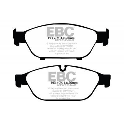 EBC Yellowstuff Передние тормозные колодки для AUDI A5/A6/A7/A8/S8 (под 356мм диск)