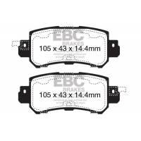 EBC Greenstuff задние тормозные колодки для Mazda CX5/CX3 (2012+)