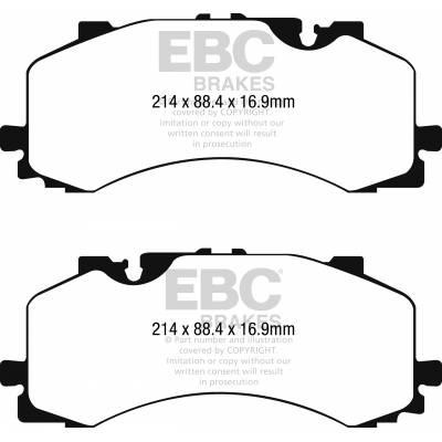 EBC Bluestuff передние тормозные колодки Audi Q7/SQ7 (4M) (под 400мм диск)