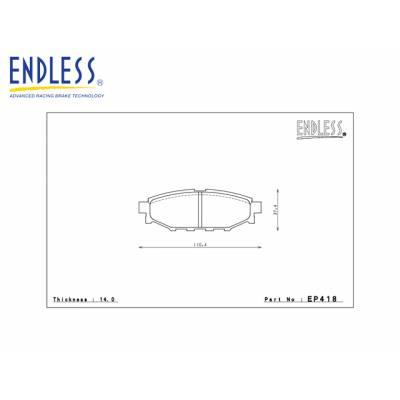 ENDLESS SSS задние тормозные колодки для SUBARU BRZ/ TOYOTA GT86/ SCION FR-S