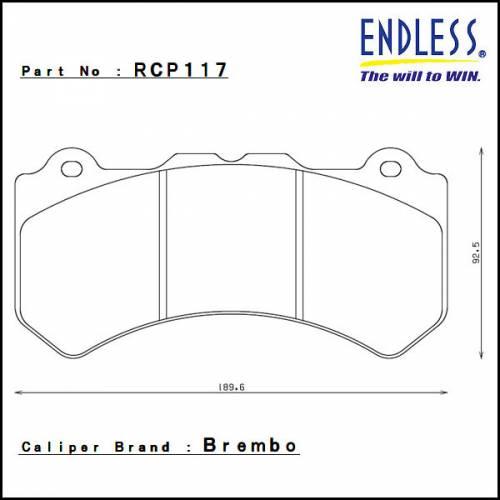 ENDLESS N30C передние тормозные колодки Nissan GTR R35