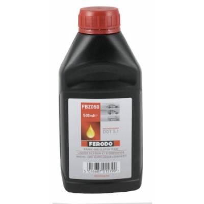 FERODO RACING Тормозная жидкость DOT 5.1 (0.5L) (271°C)