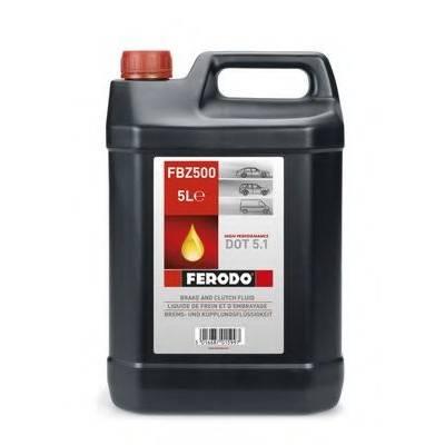 FERODO RACING Тормозная жидкость DOT 5.1 (5L) (271°C)