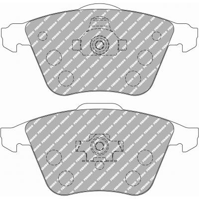 FERODO FCP1765H DS2500 Тормозные колодки передние для Audi A3 3.2/S3 (8P) /TT 3.2/GOLF mk5 R32 / mk6