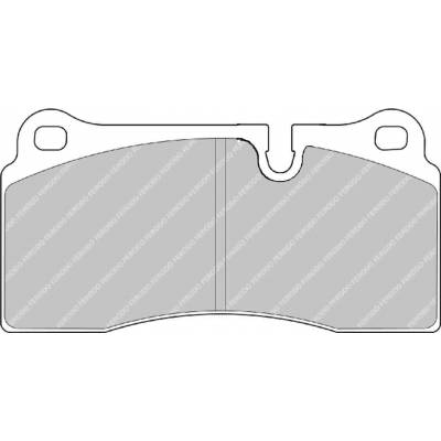 FERODO DS1.11 передние тормозные Колодки для Aston Martin DB7/ Vanquish 5.9L  (01-04)