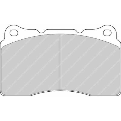 FERODO FDSR3067 передние тормозные колодки ALFA ROMEO Giulietta (940) 2.0 JTDM/Aston Martin Vantage 4.3 (04-08)