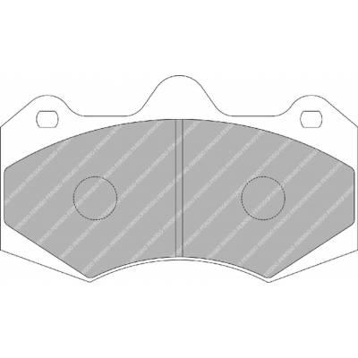 FERODO DS1.11 Колодки передние для McLaren MP4-12C (11+) / Aston Martin Vanquish S  (04-07)