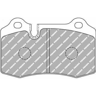 FERODO DS2500 Задние тормозные колодки для Aston Martin DB9/Vantage V8/Rapide