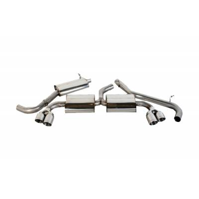 FORGE Scorpion Stainless Cat Back Exhaust System ( With Centre Silencer) AUDI TTS (MK2) 2.0 Turbo