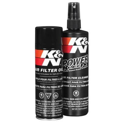 K&N 99-5000EU К-т для обработки фильтра (жидкость для мойки и масло для пропитки)