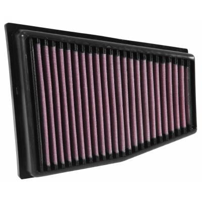 K&N воздушный фильтр в штатное место для Audi RS4/RS5 V8 4.2L (2010-2015) (2шт)