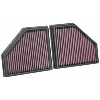 K&N Фильтры воздушные в штатное место (2шт) для BMW M550/750 (G30/G11/G12)