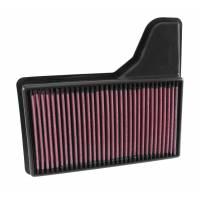K&N воздушный фильтр в штатное место для Ford Mustang 6 2.3/3.7/5.0L (2015+)
