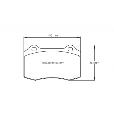 PAGID 1408-RSL29 Тормозные колодки RSL29