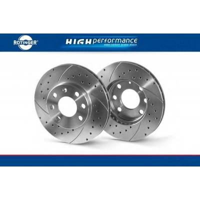 Rotinger HP-series Передние тормозные диски для VW Golf VI/VII (GTI)/ Passat (B6/CC)/ Tiguan/ Skoda Octavia/ Audi (A3/Q3/TT) (312X25mm)