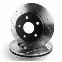 Rotinger T5-series Передние тормозные диски для Porsche Cayenne/Panamera/ Audi (Q7)/ VW Touareg (350x34mm)