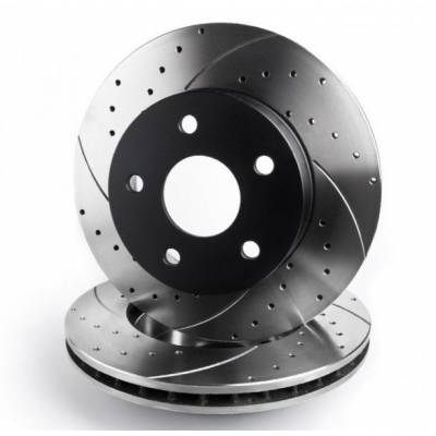 Rotinger T5-series Передние тормозные диски для Audi S4 (B6/B7) (345x30mm)