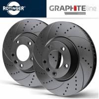Rotinger GL-series Передние тормозные диски для Toyota Land Cruiser 200/ Lexus LX570 (340x32mm)