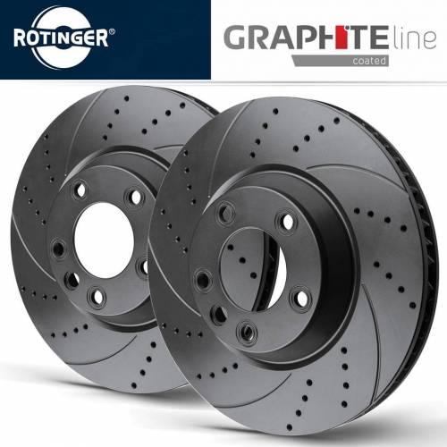 Rotinger GL-series Передние тормозные диски для Mazda 6 (GJ)/ CX-5 (2013+) (297х28mm)