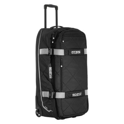 SPARCO 016437NRSI Сумка для экипировки TOUR TROLLEY. чёрный/серебристый. 4.7 кг. 40x84x38 см