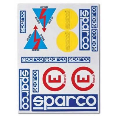 SPARCO ASPA001 Набор наклеек условных обозначений имена, флаги, огнетушитель ралли