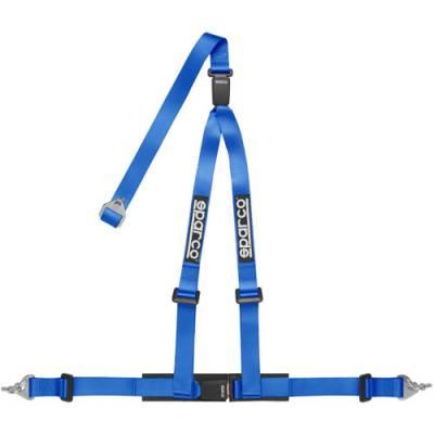 SPARCO 04608DFAZ Ременьремни безопасности 04608DF, 3точ-2, крючки, синий