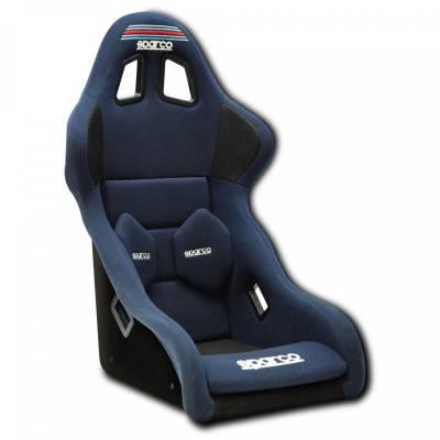 SPARCO Кресло для автоспорта PRO 2000 QRT MARTINI RACING. FIA 8855-1999. синее. р-р L