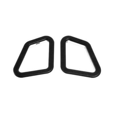 SPARCO Пластиковые вставки в спорт. сиденья спинные, черный к-кт на одну сторону (1шт)
